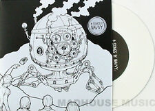 """NAVVY 7"""" 4 SONGS E.P. Very LIMITED WHITE Vinyl EP Mint / UNPLAYED"""