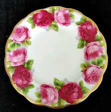 Royal Albert Old English Rose Bone China Bread Butter Plate England    D4