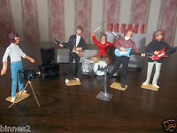 "THE BEATLES ""LEAD"" HAND PAINTED FIGURES ""ROOF TOP CONCERT "" LET IT BE AWESOME"