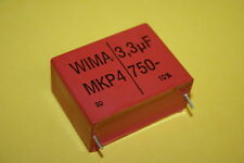 3.3UF 750V WIMA MKS4 METALLIZED POLYPROP CAPACITOR    fd2h20