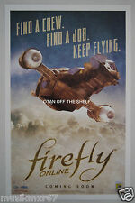 SDCC Comic Con 2015 EXCLUSIVE FOX Firefly Online numbered poster limited to 5000