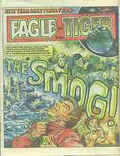 EAGLE & TIGER #198 British comic book January 4, 1986 Dan Dare VG+