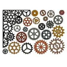 Sizzix Thinlits Cutting Die Set by Tim Holtz - Gearhead - Gears, Cogs - 661184