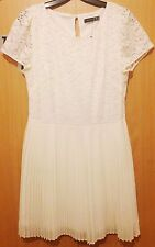 New Female Girls Lace Dress - Atmosphere - Size 12 - White