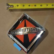 New OEM International Truck Front Emblem Badge Grille Large w/ Glue Strip