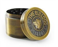 Best Tobacco Grinder Herb/Weed Smoke Metal Zinc Alloy Crusher Bulldog Design