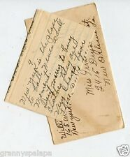 1946-4 Page Letter-New York to New Orleans-From Willie Mae to Irma WADE Family
