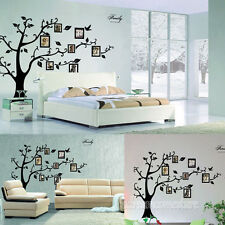 Home Decor Photo Frame Black Tree Removable Decal Wall Sticker Art Adornment