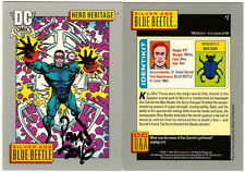 Paris Cullins SIGNED 1991 DC Comic Art Trading Card ~ Silver Age Blue Beetle