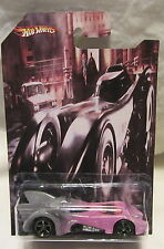 Hot Wheels CUSTOM BATMAN BATMOBILE Real Riders Rubber Wheels