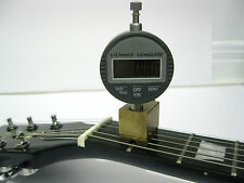 Digital Nut Slotting Gauge, Measure String Height at 1st Fret for Guitar Setup