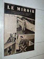 MIROIR 22/10 1939 GUERRE AVIATION FONCK CHASSE AVIATEURS U-BOOT CHARS