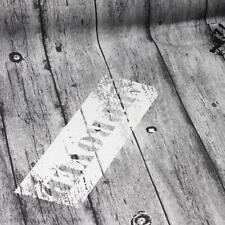 25 cm  Deko-Baumwolle: Holzkiste - grau
