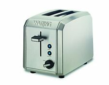 Waring WT200 Professional 2-Slice Toaster, Brushed Stainless Steel Refurbished