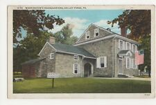 USA, Washinton's Headquarters, Valley Forge, PA. Postcard, B226