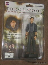 """DR Who TORCHWOOD 5 """"action figure-Capt jack harkness-ltd ed 1558 de 3000"""