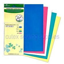 "Clover Chacopy 5-Color Tracing Paper 12"" X 10"" Sheets #434"