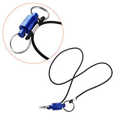 Brand New Fly Fishing Strong Pull Release Magnetic Net Clip Keeper Gear Lanyard