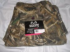 Camo Ladies REALTREE Xtra CARGO PANTS Elastic Waistband Draw String Legs XL