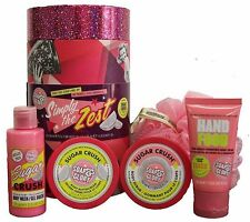 Soap & Glory Simply The Zest Christmas Gift Set of 5 Sugar Crush Travel Treats