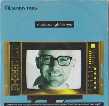 MOBY.A NIGHT IN NYC SUNDAY TIMES PROMO CD