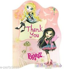 (8) BRATZ FASHION PIXIEZ THANK YOU NOTES ~ Birthday Party Supplies Stationery