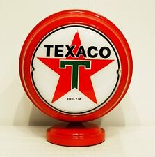 TEXACO LIGHTED MINI GAS PUMP GLOBE RED BODY GASOLINE OIL OLD CAR BEER POP SIGN