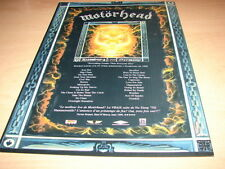 MOTORHEAD - EVERYTHING IS LOUDER!!!! PUBLICITE / ADVERT