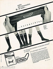 PUBLICITE ADVERTISING 055  1966  COLLEGIEN  chaussettes enfant