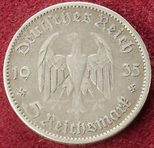 Germany 5 Marks 1935 A (C2210)