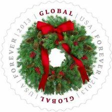 2013 $1.10 Christmas Wreath, Pine Cone, Global Forever Scott 4814 Mint F/VF NH