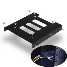 "New 2.5"" to 3.5"" SSD HDD Adapter Mounting Bracket Hard Drive Bay Holder for PC"