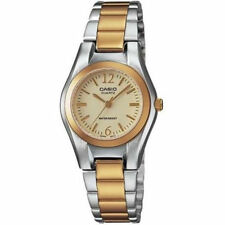Casio Women's 2-Tone Stainless Steel Watch, Champagne Dial,  LTP1253SG-9A