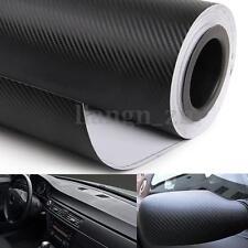 3DSticker Autocollant Fibre Carbone Film Adhesif Décor Voiture Auto Moto125X40cm