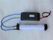 DC 12V 3g Ozone Generator Ozone tube 3g/hr for WATER Plant Air Cleaner drinking