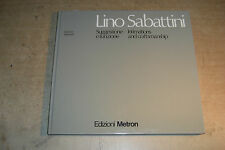 LINO SABATTINI INTIMATIONS AND CRAFTSMANSHIP 1979 ARGENTI ARTE ITALIAN DESIGN