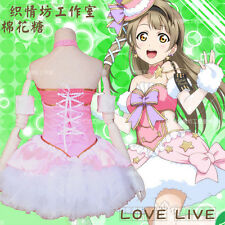 Japan Cosplay  Costume lovelive Kotori Minami Maid Fancy dress outfit +fit size