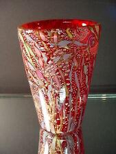 Scarce A.V.E.M. Italian Glass Vintage Tutti Frutti Paperweight Vase Murano Eames