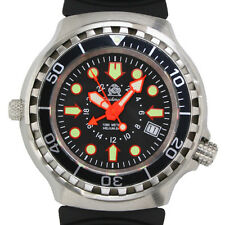 24H GMT 2nd TIME ZONE COMBAT-DIVER 100 ATM HELIUM-SAFE T0272