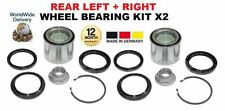 FOR SUBARU FORESTER TURBO 1997--  NEW REAR LEFT + RIGHT WHEEL BEARING KIT X2