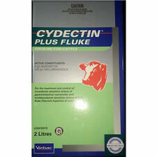 CYDECTIN PLUS FLUKE POUR-ON FOR CATTLE 2-Litre (Moxidectin & Triclabendazole)