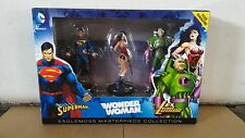 *#1 JUSTICE LEAGUE MASTERPIECE COLLECTION SUPERMAN FIGURINE SET DC BATMAN