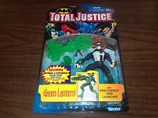 1996 KENNER TOTAL JUSTICE GREEN LANTERN ACTION FIGURE RING ENERGY DISC LAUNCHER
