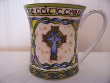 The Celtic Cross from Clara Irish Weave, Bone China Tea Cup or Mug