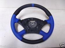 FOCUS RS RE TRIMMED LEATHER STEERING WHEEL BLACK STITCHING 98-04 UK SELLER