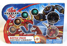 New BAKUGAN 6-PACK BATTLE PACK Neo Dragonoid ALPHA PERCIVAL Darkus NEW VESTROIA