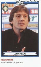 LEONARDO BRAZIL INTER PSG PARIS.SG RARE UPDATE STICKER CALCIATORI 2011 PANINI