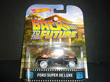 Hot Wheels Ford Super Deluxe Back to the Future 1/64 ths1