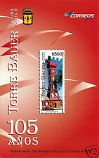 CHILE, 105 YEARS BAUER TOWER, BROCHURE, YEAR 2010