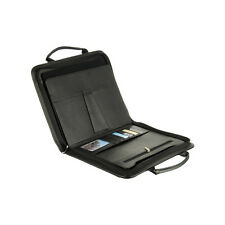 "Universal Portfolio Carrying Case Leather Briefcase Bag for 10.1"" Tablet/ebook"